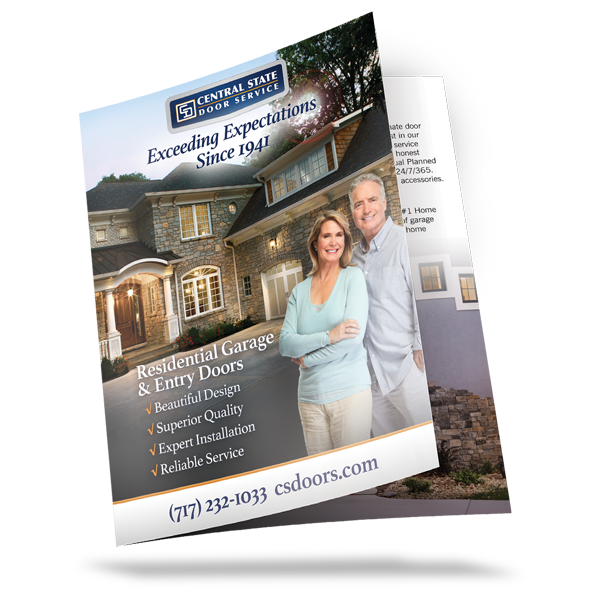 Central State Door Service Residential Brochure
