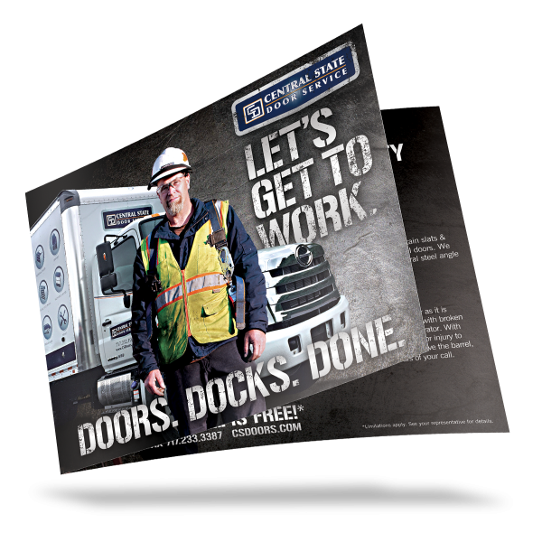 Central State Door Service Commercial Brochure