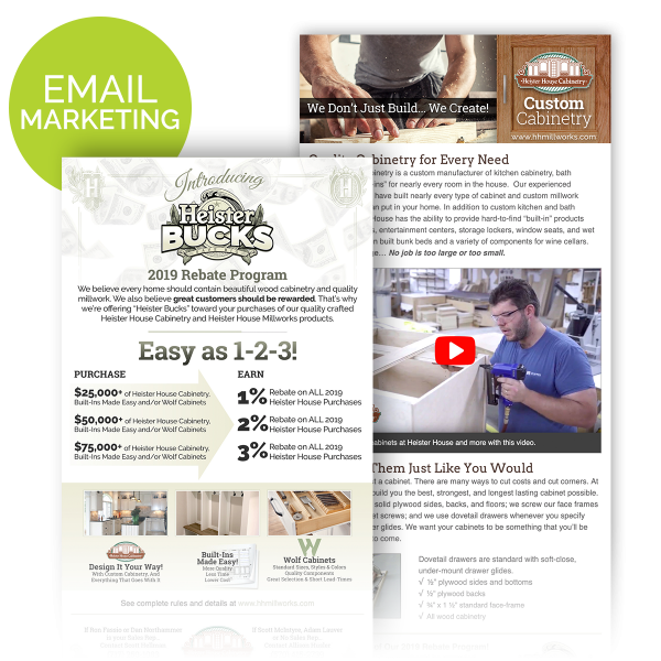 Heister House Email Marketing