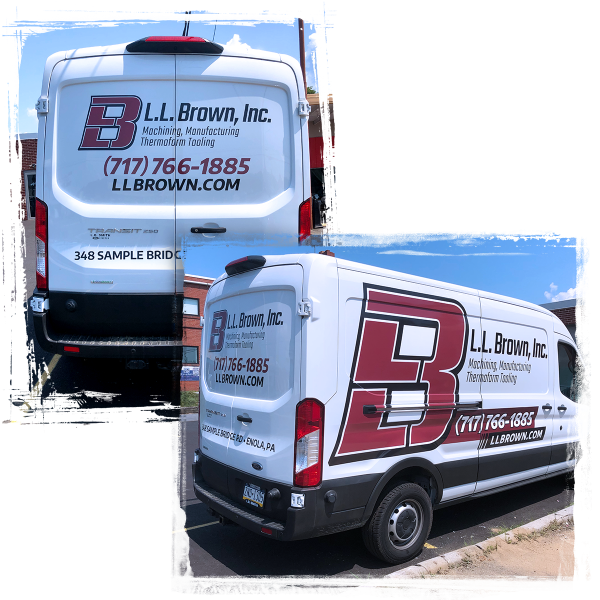 L.L. Brown Delivery Van Graphics